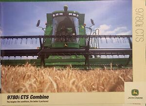 John Deere 9780i CTS Combine Brochure
