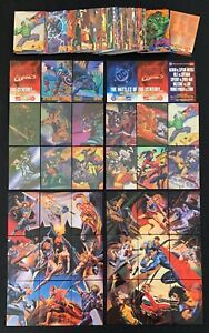 1995 MARVEL VS DC IMPACT BATTLE HOLO F/X INSERT BASE SET CARD SINGLES YOU CHOOSE