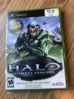 Halo: Combat Evolved (Microsoft Xbox, 2001) Cib Game -H3