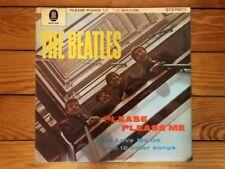The Beatles - Please Please Me 1963 Odeon ZTOX 5550 German Jacket VG+ Vinyl VG
