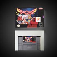 Parodius USA NTSC Version With Retail Box Action Game Super Nintendo SNES Game