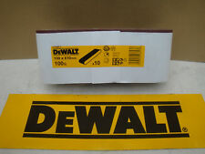 10 X DEWALT DT3673 100MM X 610MM SANDER SANDING BELTS 100GRIT FOR MAKITA ETC
