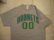 Nice NBA New Orleans Hornets Jersey Style 00 bud light beer grey T Shirt XL