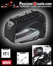 borsa da sella moto scooter givi xs301 in cordura capienza 17 LT sadle bags