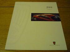 Rover 200 folleto 1995 Jm