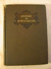 Antique 1899 A Brief History of the City of New York by Charles Burr Todd
