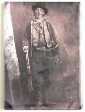 Billy the Kid Tintype FRIDGE MAGNET (2 x 3 inches)