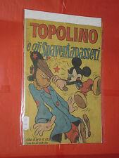 ALBO ORO N° 125-c-originale -1948-1°serie-DISNEY MONDADORI-topolino spaventapass