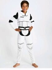 MARKS AND SPENCER M&S BOYS STAR WARS All in one STORMTROOPER 11-12 yrs Old
