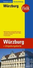 Falk Stadtplan Extra Standardfaltung Wuerzburg (2017, Karte)