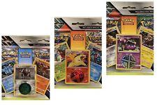 Pokemon 3 Promo Cards Blister Bundle! 3x Blisters!