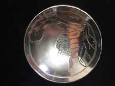 """Signed Don Sheil 5.5"""" Etched Aluminum Bowl made in Australia"""