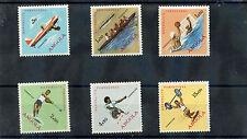 ANGOLA Sc 443-8(SG 560-5)**F-VF NH 1962 OLYMPICS $21