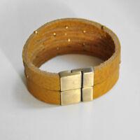 Rechteck Magnetschliessen Antik Bronze für Bänder bis 4 x 13 mm