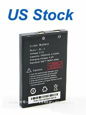 US/UK/AUS,Battery for VX-2R,3R (1500mAh) Baofeng UV-3R, YAESU radio part (G82LI)