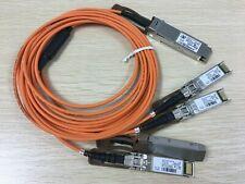 QSFP-4X10G-AOC2M 10-2931-02 Cisco 40GQSFP to four 10G SFP+ AOC 2M Cable