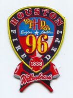 Houston Fire Department Station 96 Patch Texas TX