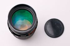 Kiron 80-200mm f/4.5 Macro 1:4 MC Telephoto Zoom Lens & Caps Pentax K (#2117)