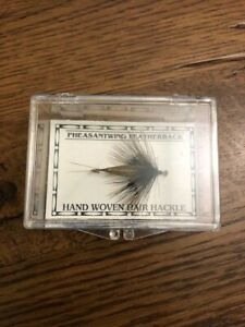 George Grant Bighole River Pattern Pheasantwing Featherback Fly