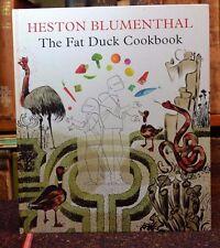 Fat Duck Cookbook Heston Blumenthal Bloomsbury Hardback 2009 First Trade Edition