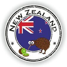 New Zealand Kiwi Stamp Seal Sticker Decal for Laptop Tablet Fridge Door
