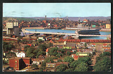 Posted 1969 View of the City of Saint John, New Brunswick, Canada