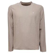 2583AC maglia uomo STONE ISLAND mix wool BEIGE t-shirt men