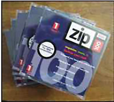 Iomega ZIP 100 media 100 mb storage 10 units