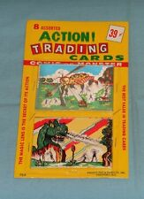 vintage MONSTER MAGIC ACTION TRADING CARDS MOC by Knight Toy