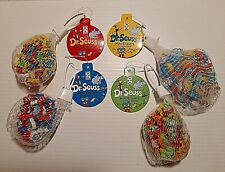 240 Dr Seuss Mini Erasers School Supplies One Thing Cat Hat Green Eggs Blue Fish