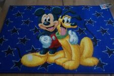 BRAND NEW DISNEY MICKEY MOUSE PLUTO RUG CARPET 50X76 CM 100% NYLON MADE IN EGYPT