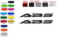 ADESIVI ABS HONDA SH 125 150 300 (COPPIA)