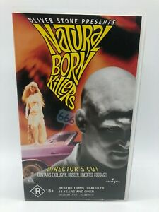 Natural Born Killers - Oliver Stone - VHS PAL Video - Free Postage
