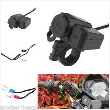 Waterproof Cigarette Lighter 12V Outlet + USB Interface For ATV Motorbike Can-Am