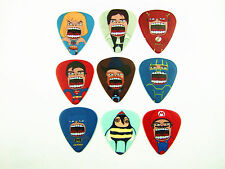 50PCS 0.71mm Musical Accessories Personal DIY Roaring Characters Guitar Picks
