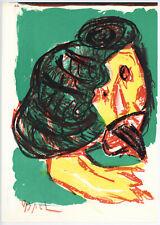 Karel Appel 1964 original lithograph - 2