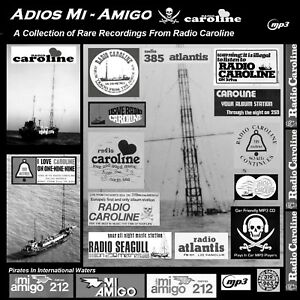 Pirate Radio Adios Mi Amigo (Radio Caroline) Listen In Your Car