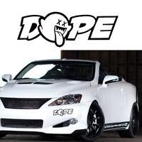 1* Sale Funny JDM Dope Car Truck Window Drift Illest Vinyl Decal Car Sticker