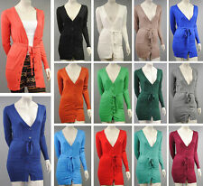 Feine Langarm-Damen-Strickjacken aus Kaschmir