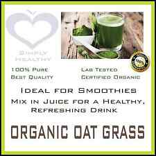 OAT GRASS POWDER  ORGANIC CERTIFIED 100g BEST AVAILABLE QUALITY