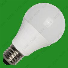 1x 5W (= 40W) A60 GLS Globe ES E27 Ahorro De Energía Lámpara Bombilla LED