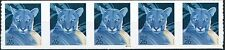 Florida Panther Self-Adhesive Coil Strip of 5 PNC5 Pl S1111 MNH Scotts 4141