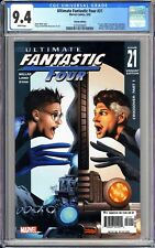 Ultimate Fantastic Four #21 CGC 9.4 WP 2005 3724373021 Variant Edition