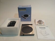 Brushed Stainless Steel Coffee Cup Warmer by Cosori - NEW [Open box]A1