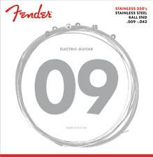 Fender Stainless Steel 350L Electric Guitar Strings 9-42