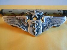 Vietnam Era United States Air Force Chief Flight Surgeon Wings Badge by Krew T3