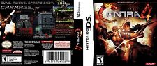 Contra 4 Nintendo DS Replacement Box Art Case Insert Cover (No Game, No Box)