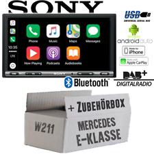 Sony Radio für Mercedes E-Klasse W211 Bluetooth DAB+ CarPlay Android Auto USB
