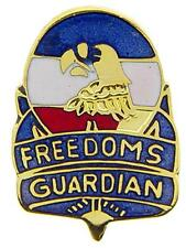 """U.S. Army Freedoms Guardian Shield Lapel Metal Hat Pin Emblem 1"""""""