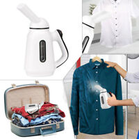 2018 Portable Travel Clothes Garment Steamer Fabric Home Hand Held White US